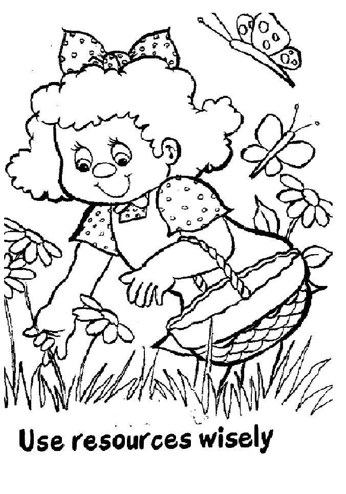 Girl Scout Printable Coloring Pages  Girl Scouts Coloring Pages