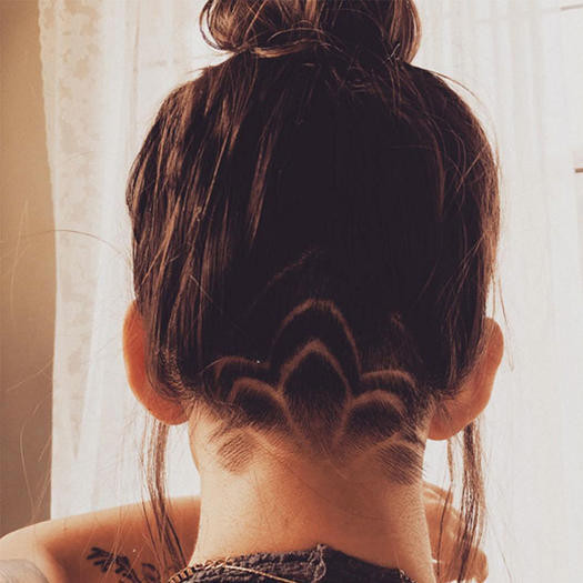 Best ideas about Girl Undercut Hairstyle . Save or Pin The Undercut Is the Fit Girl Hair Trend You Need to Try Now.