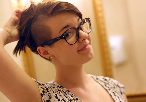 Best ideas about Girl Undercut Hairstyle . Save or Pin Gorgeous Undercut Hairstyles for Girls Fave HairStyles Now.