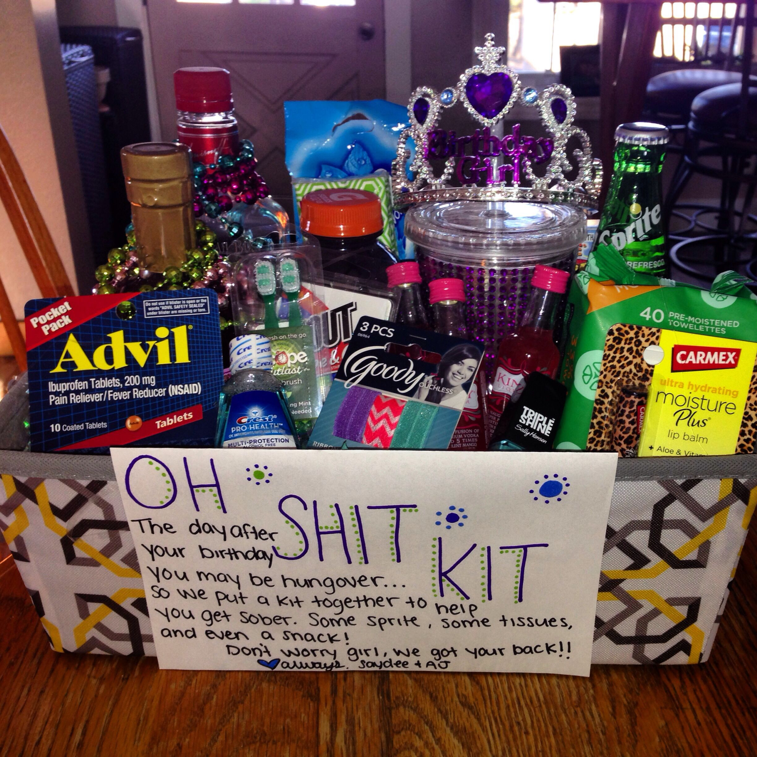 Best ideas about Girlfriend Gift Ideas Pinterest . Save or Pin Birthday present for my girlfriends 21 st birthday 21 Now.