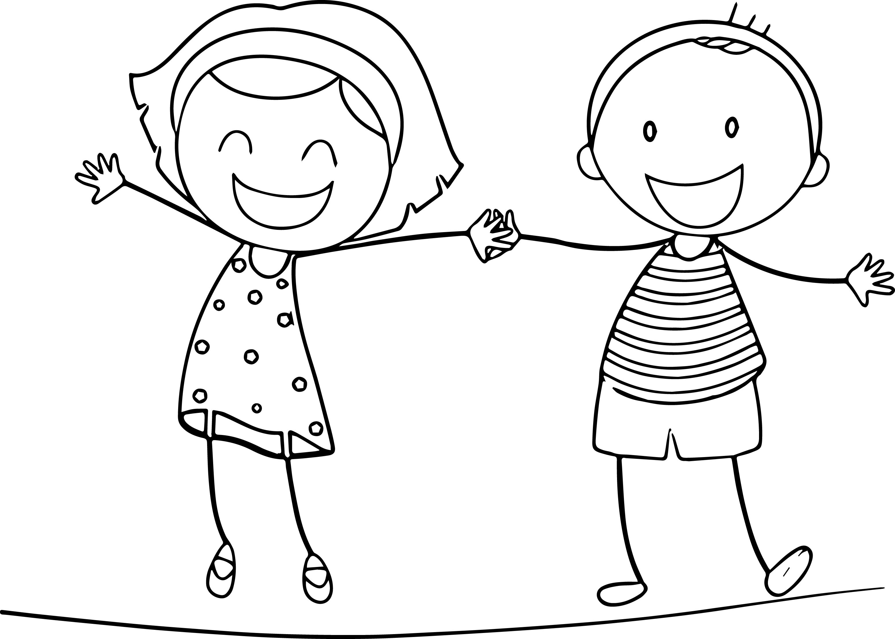 Girls Coloring Pages For Kids  Fun Coloring Pages For Boys And Girls The Art Jinni