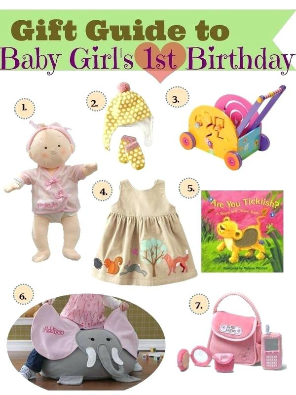 Girls First Birthday Gift Ideas  First Birthday Gift Ideas For Girls A Super Present This