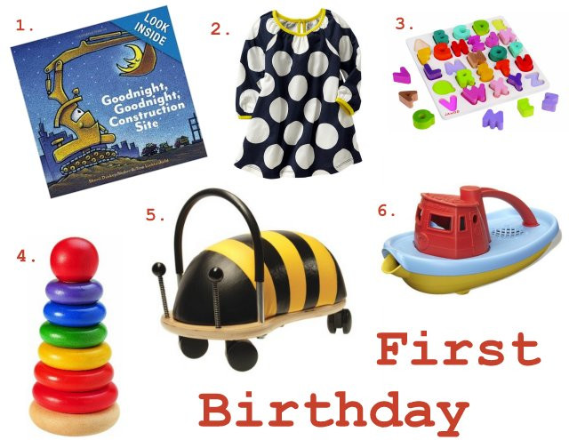 Girls First Birthday Gift Ideas  Gift Guide First Birthday Gift Ideas Becca Garber