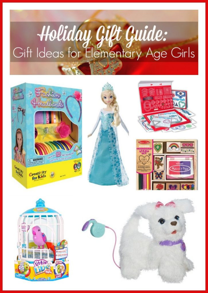Girls Gift Ideas Age 10  Holiday Gift Guide Gift Ideas for Elementary Age Girls