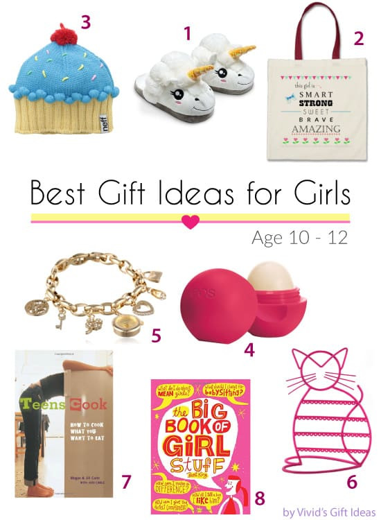 Girls Gift Ideas Age 10  Gift Ideas for 10 12 Years Old Tween Girls Vivid s Gift