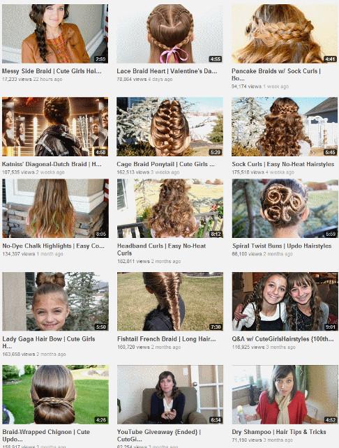 Girls Hairstyle Names  CuteGirlsHairStyles – Hair Stylist
