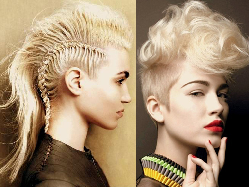 Girls Mohawk Hairstyles  20 spectacular mohawk hairstyles for any hair length