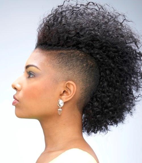 Girls Mohawk Hairstyles  Mohawk Hairstyles For Black Women 10 Best Mohawk