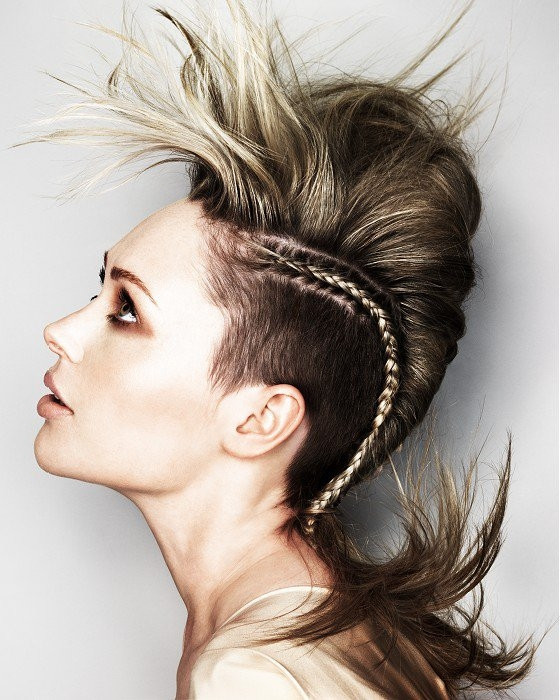 Girls Mohawk Hairstyles  Girl Mohawk Hairstyles Trends and Ideas