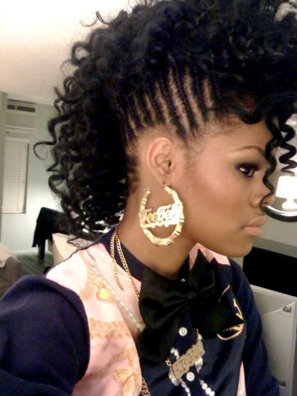 Girls Mohawk Hairstyles  Braided Hairstyles For Black Girls 30 Impressive