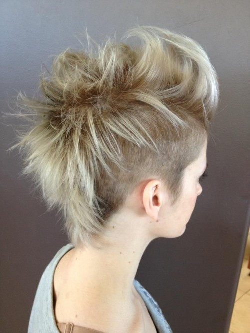 Girls Mohawk Hairstyles  Gorgeous Girl Mohawk Hairstyles 2014