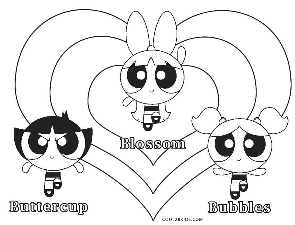 Best ideas about Girls Rule Free Coloring Sheets . Save or Pin Free Printable Powerpuff Girls Coloring Pages Now.