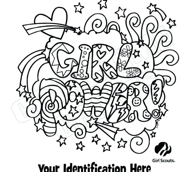 Best ideas about Girls Rule Free Coloring Sheets . Save or Pin Girl Scout Coloring Pages Printable Now.