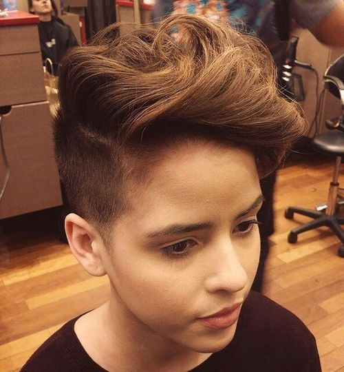 Girls Undercut Hairstyle  40 Stylish Hairstyles and Haircuts for Teenage Girls