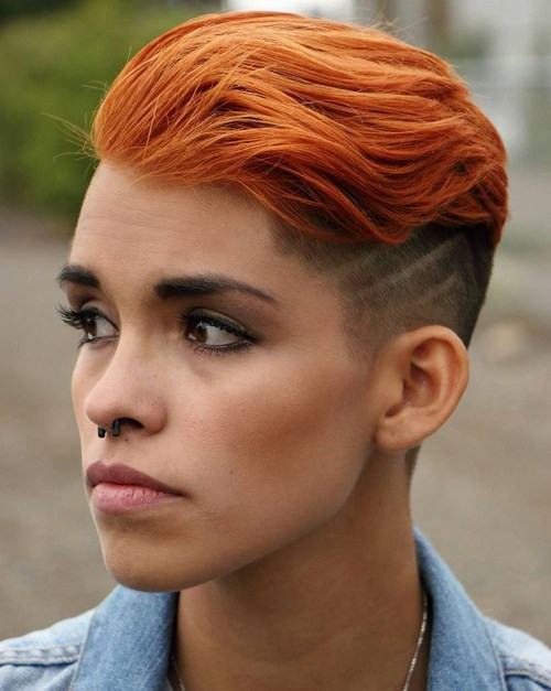 Girls Undercut Hairstyle  50 Women's Undercut Hairstyles to Make a Real Statement