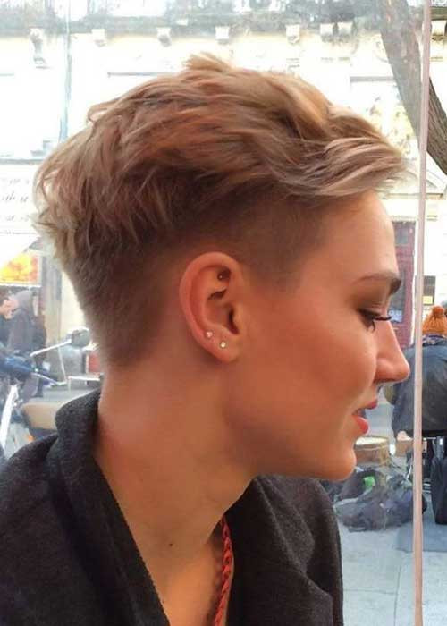 Girls Undercut Hairstyles  25 Latest Short Hair Cuts For Woman