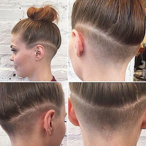 Girls Undercut Hairstyles  Best 20 Long undercut ideas on Pinterest