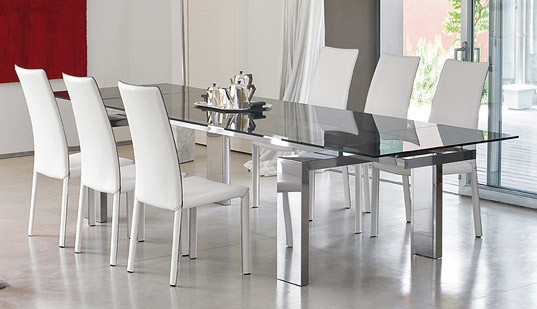 Best ideas about Glass Dining Room Tables . Save or Pin Modern Dining Room Set – Bonaldo Now.