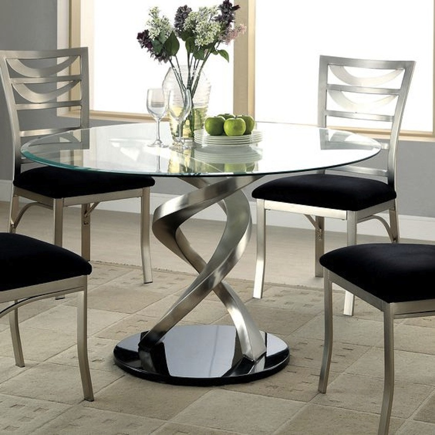 Best ideas about Glass Dining Room Tables . Save or Pin Amazing Modern Glass Dining Tables Now.