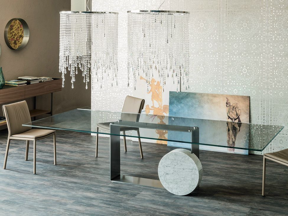 Best ideas about Glass Dining Room Tables . Save or Pin 40 Glass Dining Room Tables To Revamp With From Rectangle Now.