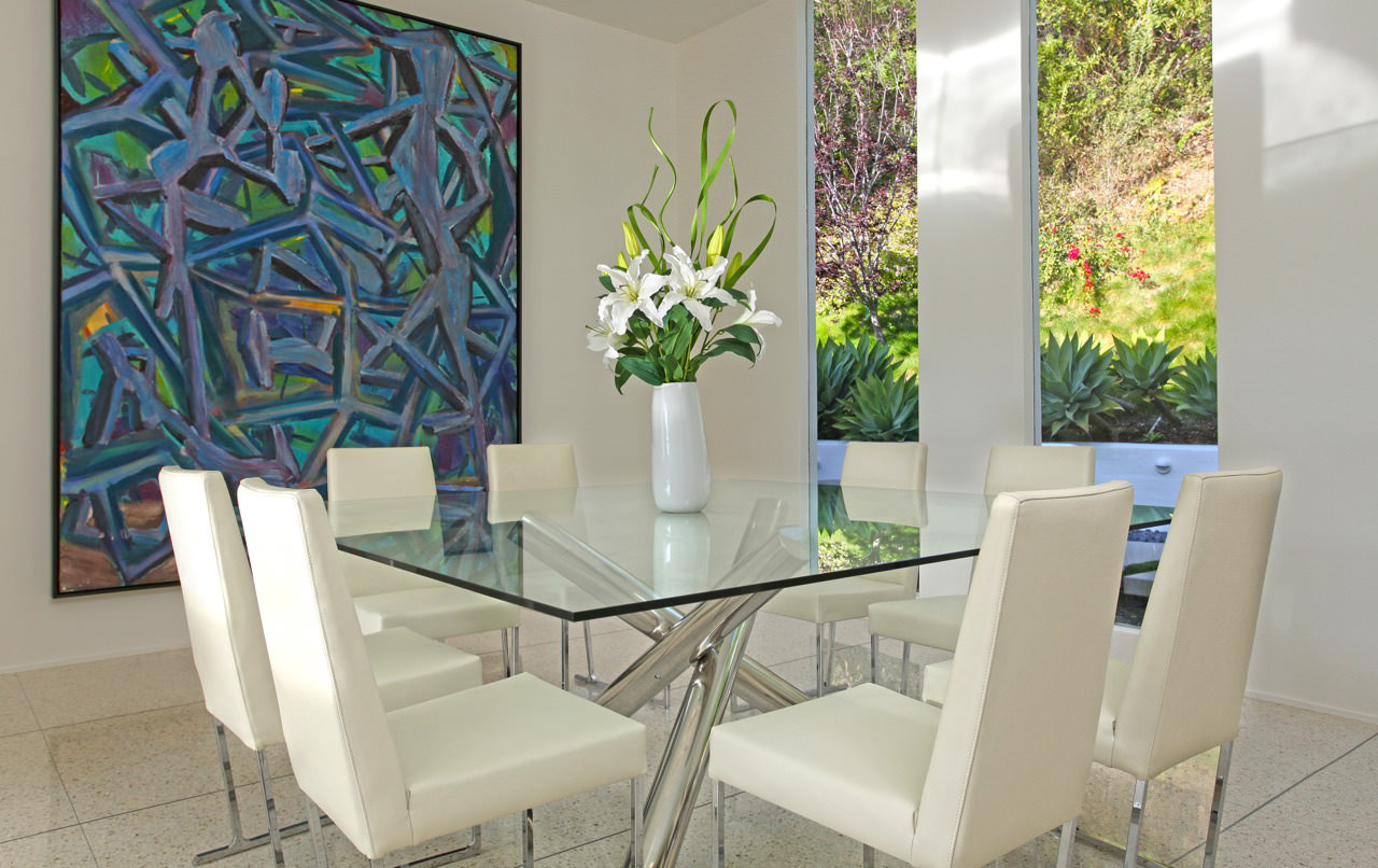 Best ideas about Glass Dining Room Tables . Save or Pin 18 Square Glass Top Dining Tables Designs Ideas Plans Now.