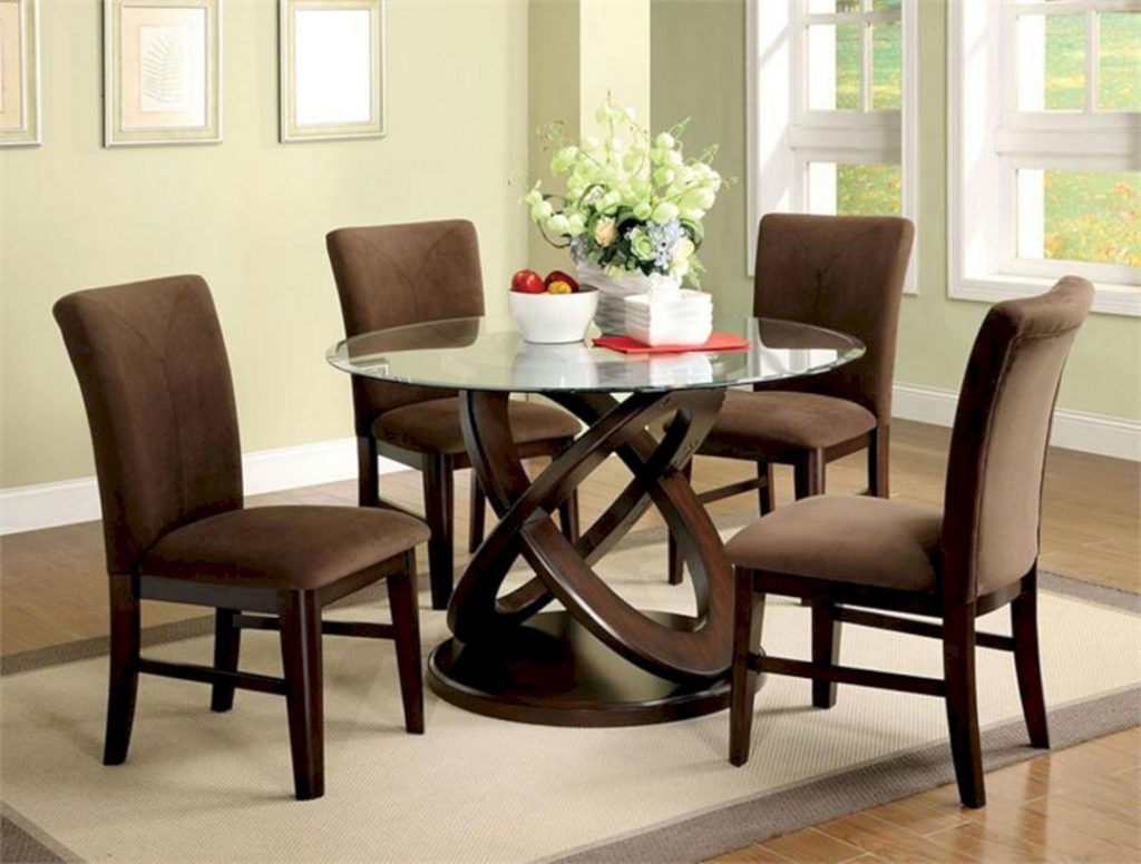 Best ideas about Glass Dining Room Tables . Save or Pin 24 Ways For Enjoyable Dinner With Awesome Dining Set Ideas Now.