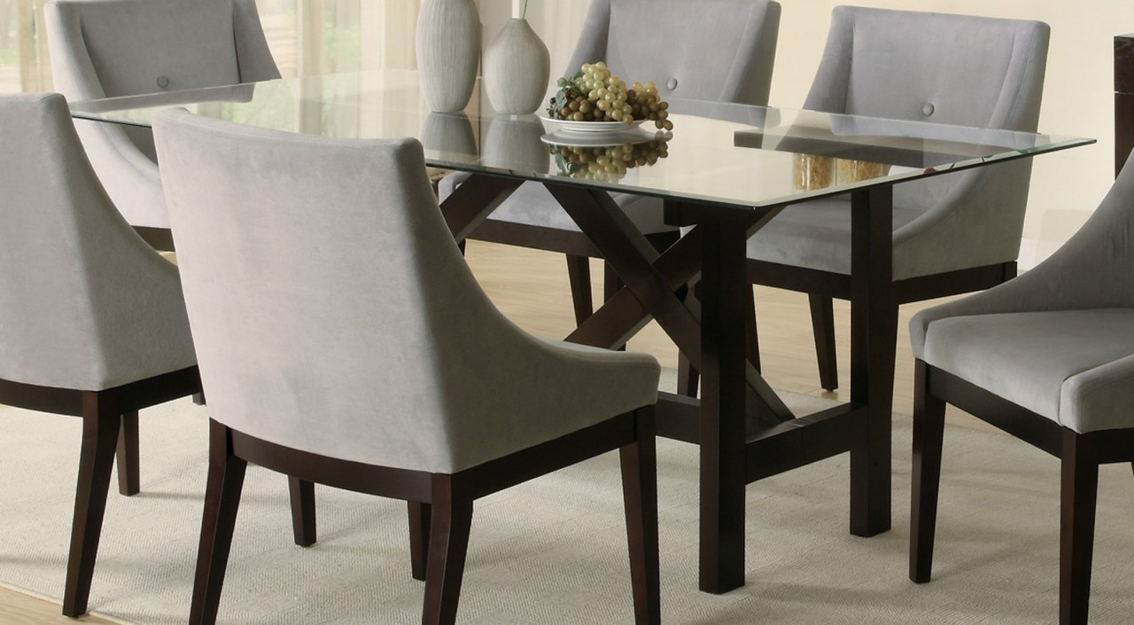 Best ideas about Glass Dining Room Tables . Save or Pin Glass furniture class style and unmatchable elegance Now.