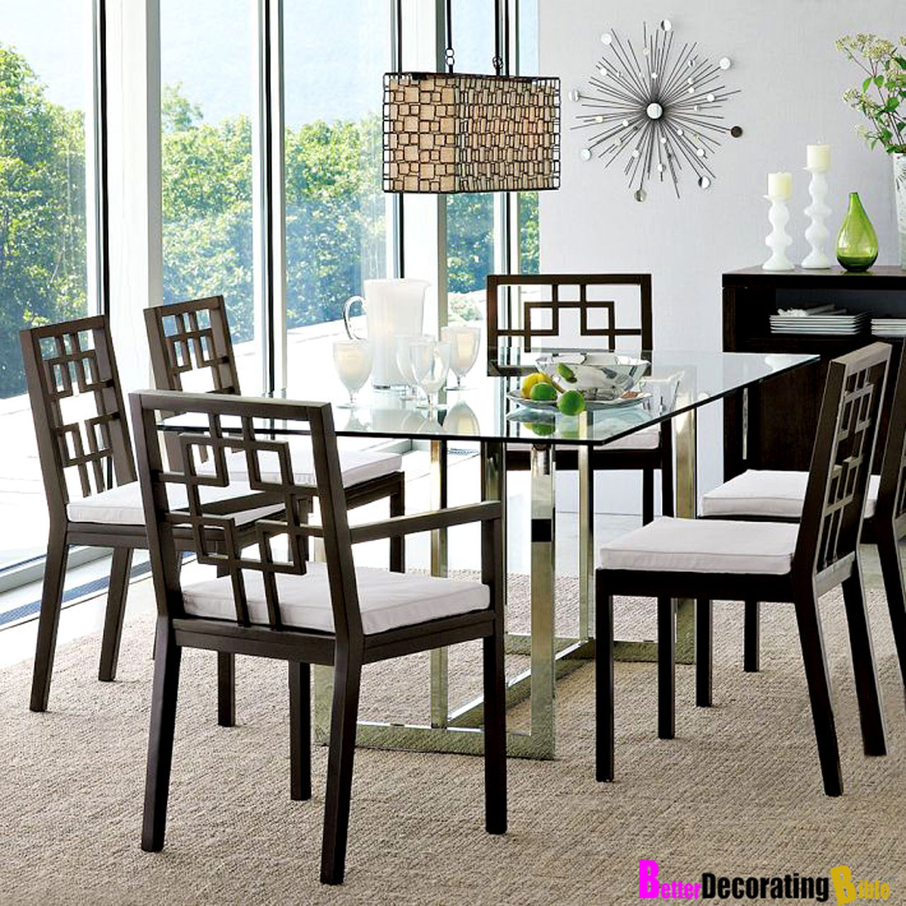 Best ideas about Glass Dining Room Tables . Save or Pin Modern Dining Room Furniture Design Amaza Design Now.