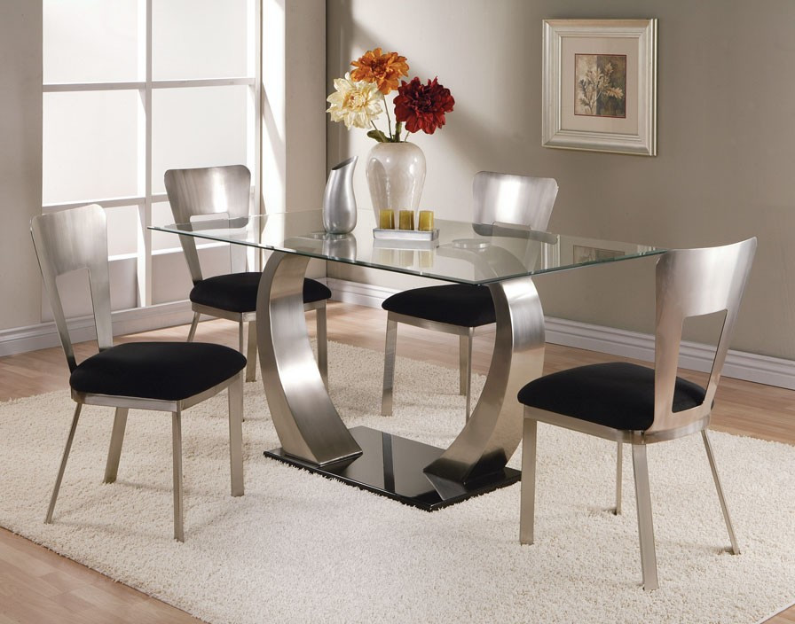 Best ideas about Glass Dining Room Tables . Save or Pin Glass Top Dining Tables Now.