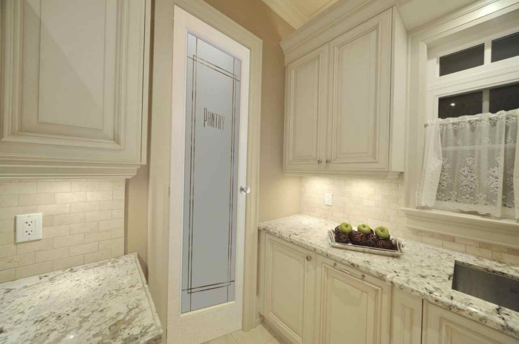 Best ideas about Glass Pantry Door . Save or Pin frosted glass pantry doors Sans Soucie Art Glass Now.