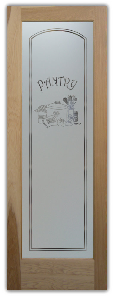 Best ideas about Glass Pantry Door . Save or Pin etched glass pantry door Sans Soucie Art Glass Now.