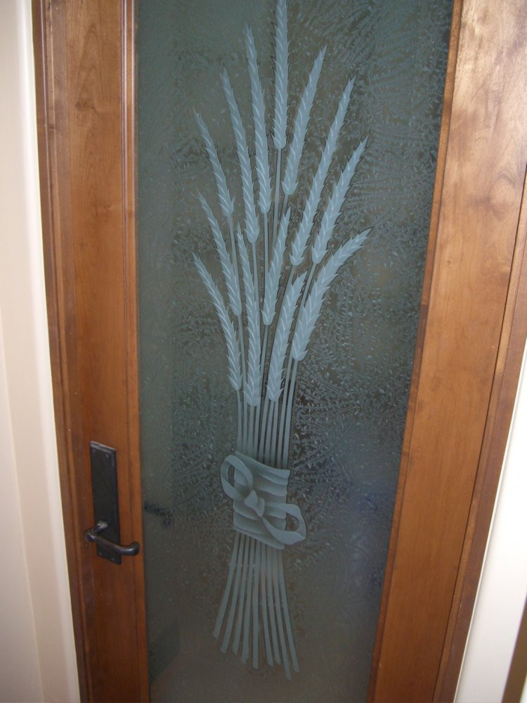 Best ideas about Glass Pantry Door . Save or Pin Pantry Door Glass Etched & Carved by Sans Soucie Sans Now.