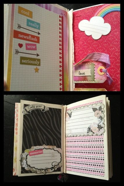 Going Away Gift Ideas For Girlfriend  CUSTOM Scrapbook BFF Theme Journal Smashbook Best