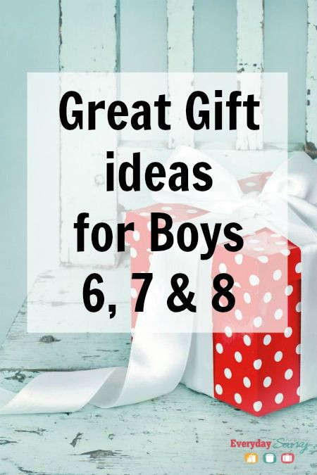 Best ideas about Good Gift Ideas For Boys . Save or Pin Great Gift Ideas for Boys Ages 6 7 8 Now.