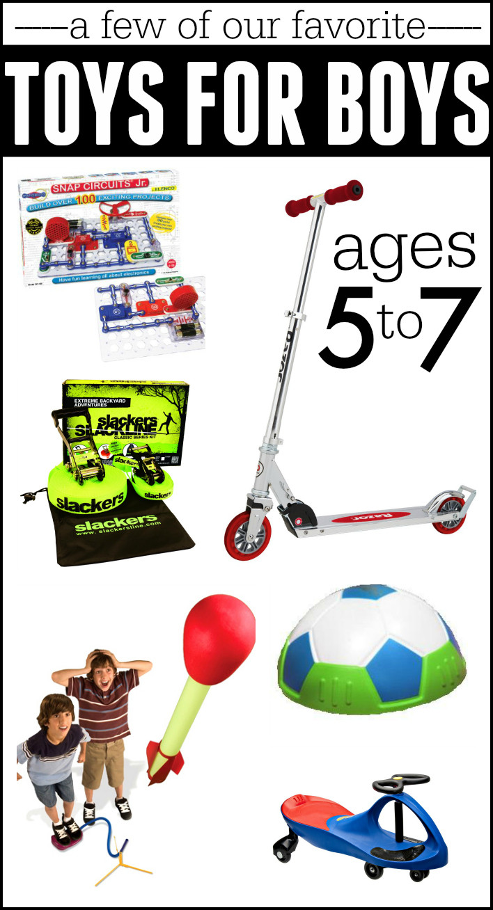 Best ideas about Good Gift Ideas For Boys . Save or Pin Best Gifts for Boys Ages 5 7 I Can Teach My Child Now.