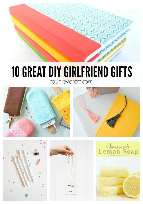 Good Gift Ideas For Your Girlfriend  DIY Gifts Ideas 10 Great DIY Gifts for Girlfriends