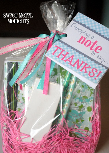 Good Thank You Gift Ideas  8 Great Teacher Appreciation Printables Happy Home Fairy