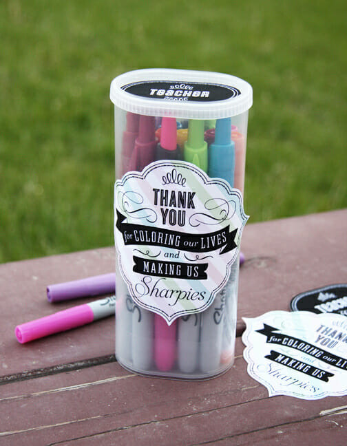 Good Thank You Gift Ideas  Teacher Appreciation Gifts Our Best Bites