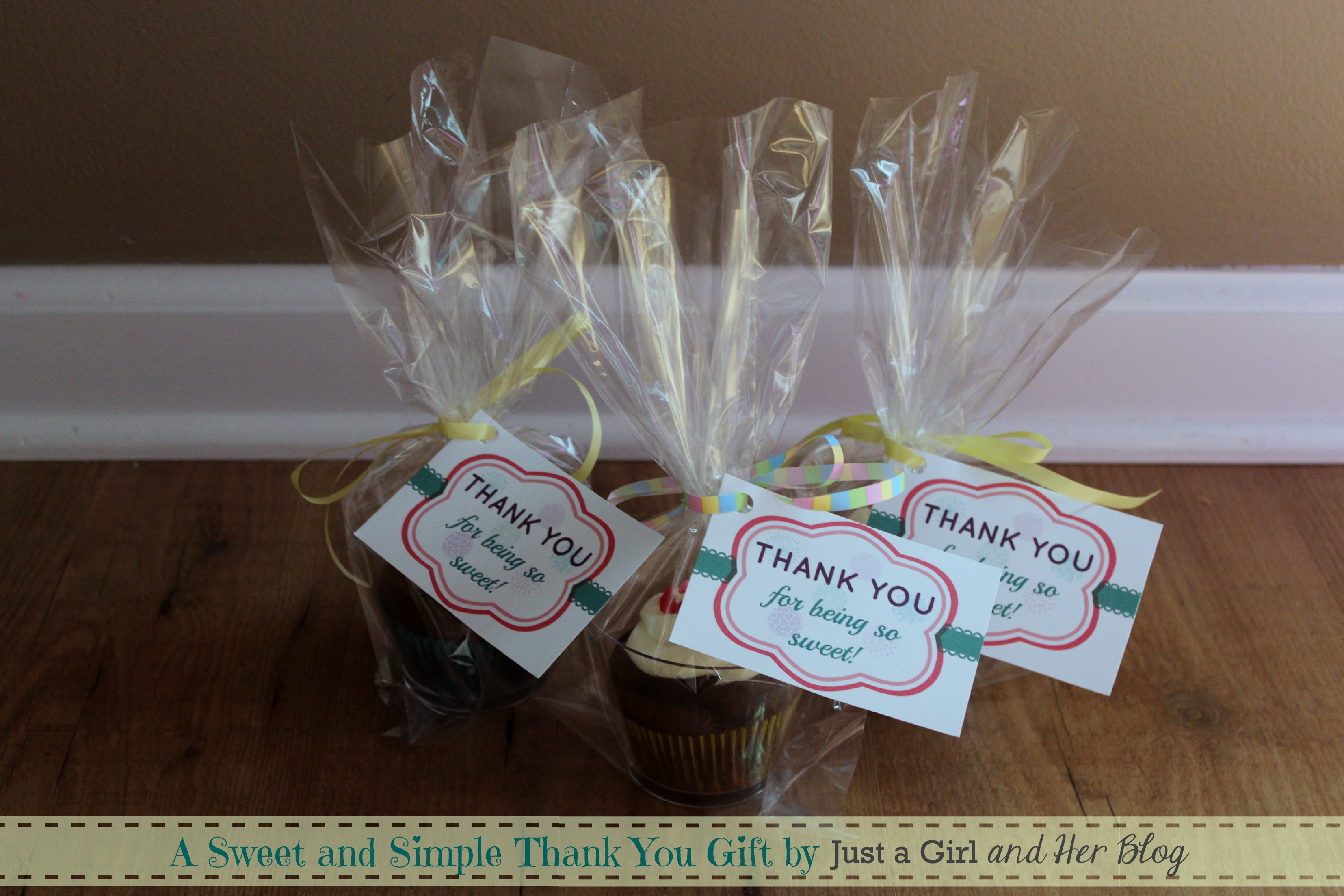 Good Thank You Gift Ideas  A Sweet and Simple Thank You Gift with FREE Printable