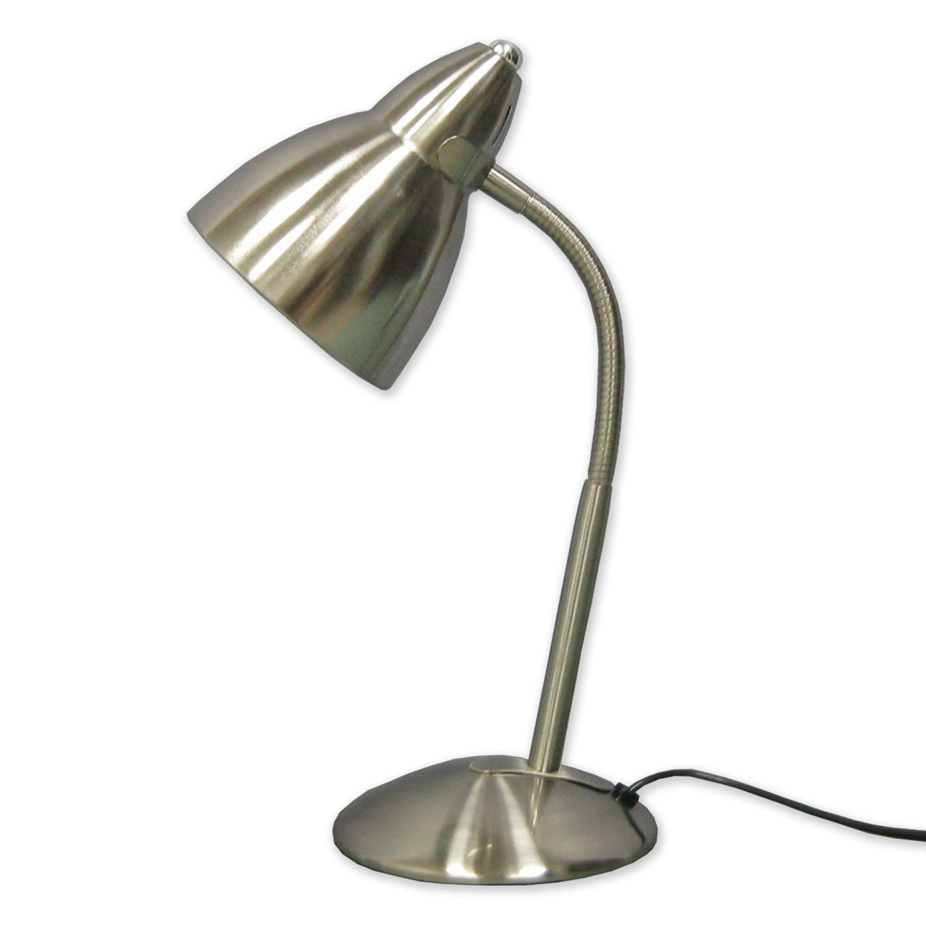 Best ideas about Gooseneck Desk Lamps . Save or Pin Essential Home Gooseneck Desk Lamp – Silver Now.
