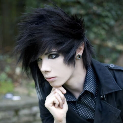 Goth Hairstyles Male  50 Creative Punk Hairstyles Men Hairstyles World