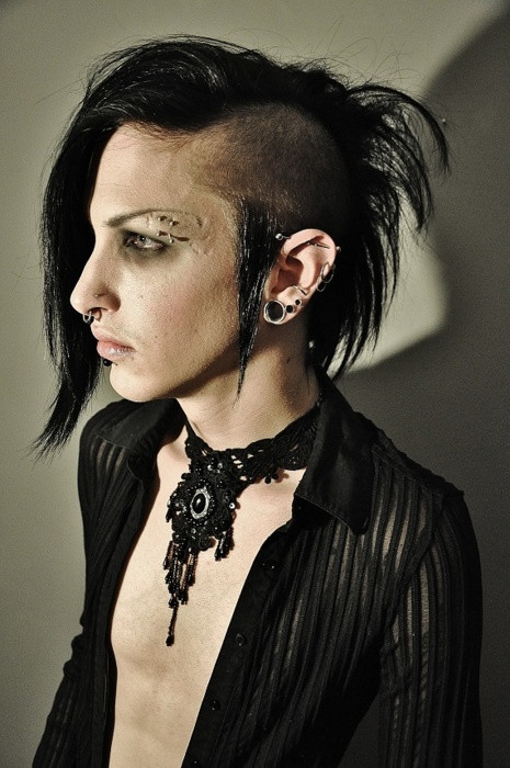 Goth Hairstyles Male  Pinterest • The world's catalog of ideas