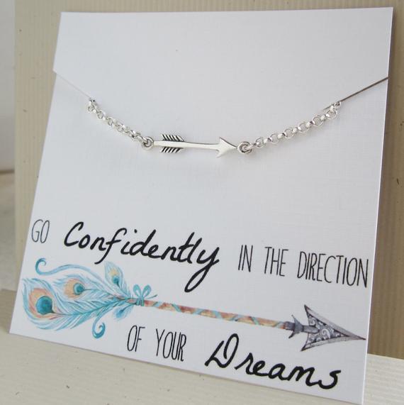 Graduation Gift Ideas For Daughter  Arrow bracelet Graduation t for her daughter t