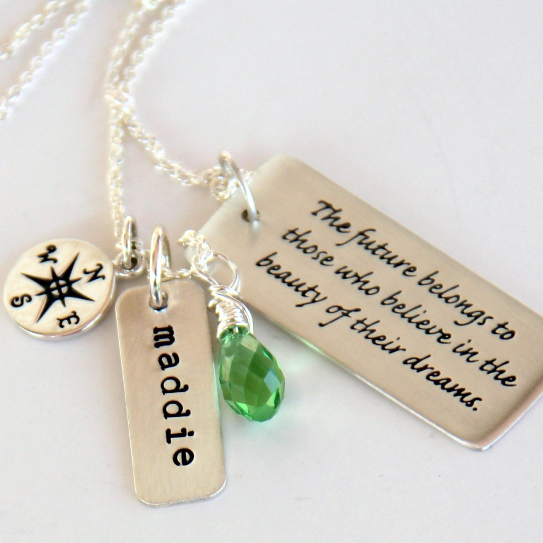 Graduation Gift Ideas For Daughter  Graduation Necklace Graduation Gift For Daughter College