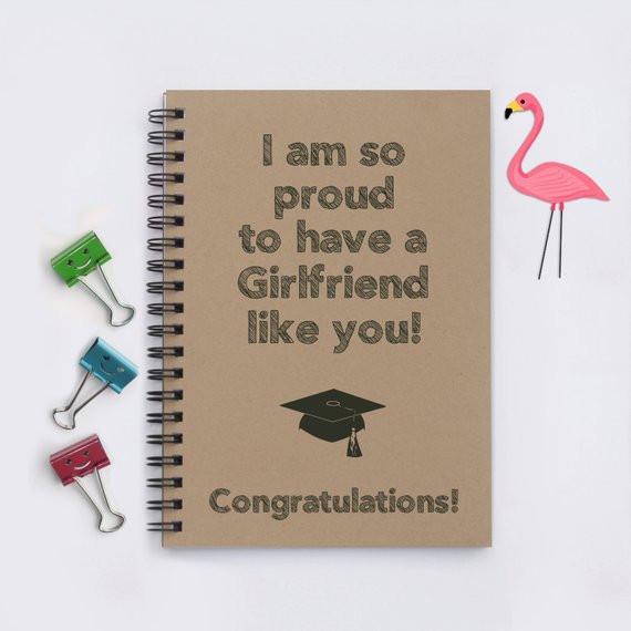 Graduation Gift Ideas For Girlfriend  girlfriend graduation t I am so proud to have a Girlfriend