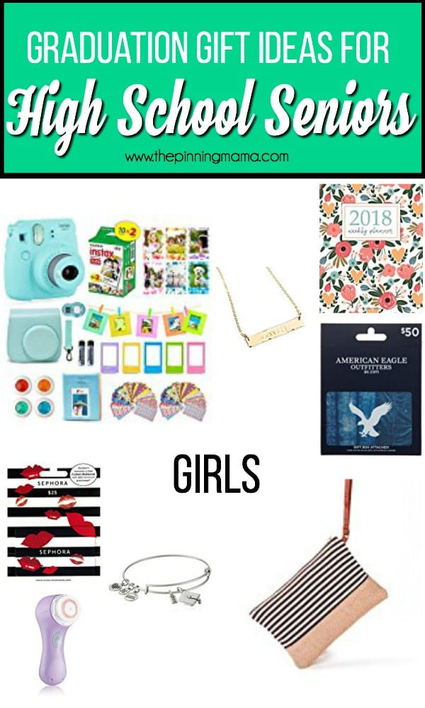 Graduation Gift Ideas For High School Seniors  High School Graduation Gift ideas • The Pinning Mama