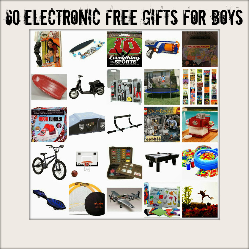 Best ideas about Great Gift Ideas For Boys . Save or Pin 60 Great Gifts for Boys Electronic Free Now.