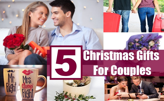 Best ideas about Great Gift Ideas For Couples . Save or Pin Top Five Amazingly Beautiful Christmas Gift Ideas For Now.