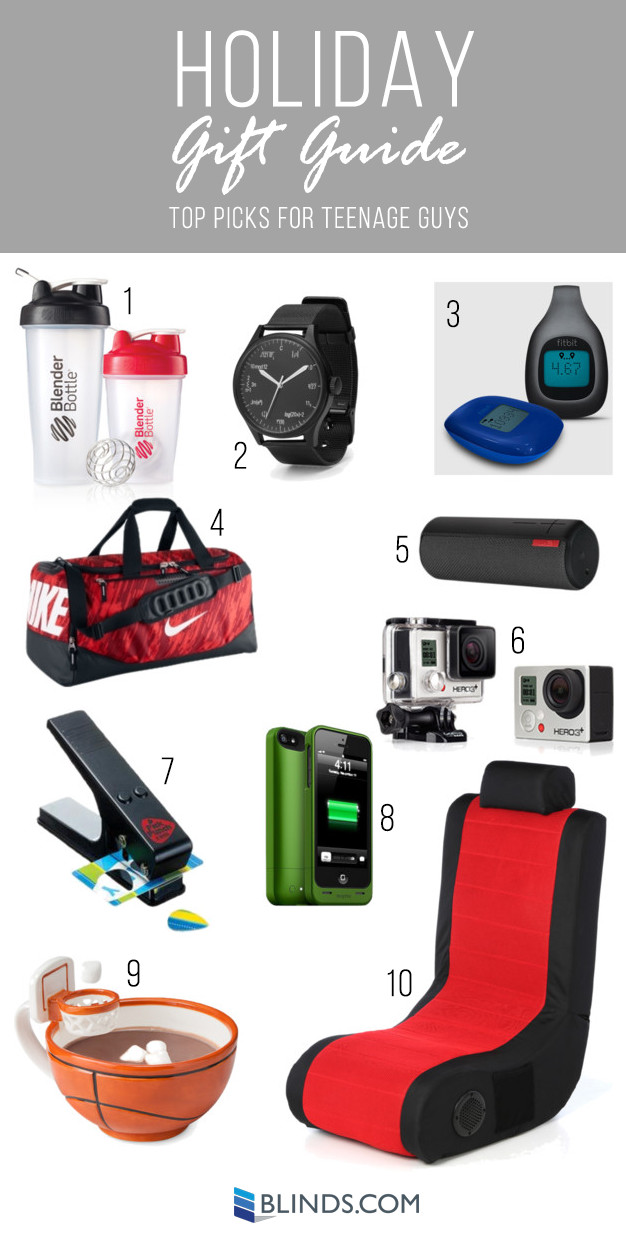 Great Gift Ideas For Teen Boys  2014 Holiday Gift Guides Gifts for kids The Finishing Touch