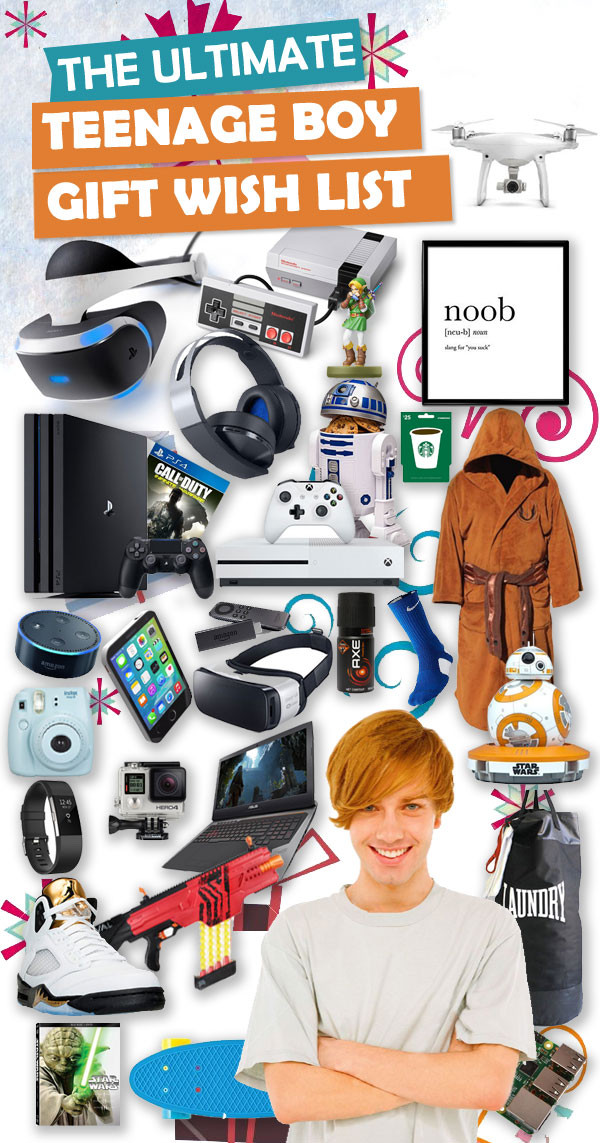Great Gift Ideas For Teen Boys  Best Christmas Gifts For Teen Boys